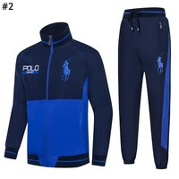Polo Ralph Lauren 2019 early spring new embroidery logo men's sports outdoor leisure sportswear two-piece #2