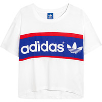 adidas Originals - City London printed cotton-jersey T-shirt