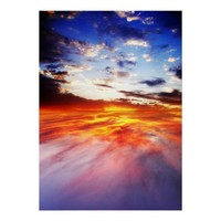 Magma and sky Poster from Zazzle.com