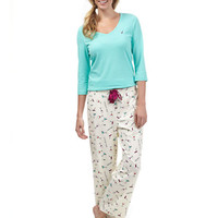 Nautica Knit Pajama Set