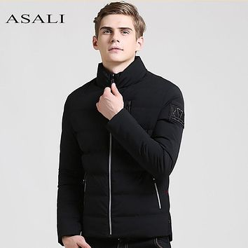 Winter Jacket Men Waterproof Parka Men Cotton Padded Hooded jacket male Thick Quilted Coat Men