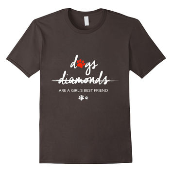 Diamonds Are A Girls Best Friend T-Shirt !!!