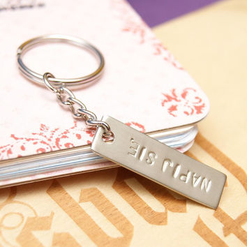 PERSONALIZED KEYCHAIN , men keychain