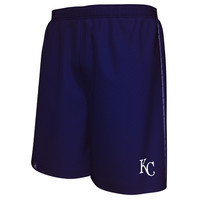 Kansas City Royals Majestic Big & Tall Rush To Victory Shorts – Royal Blue