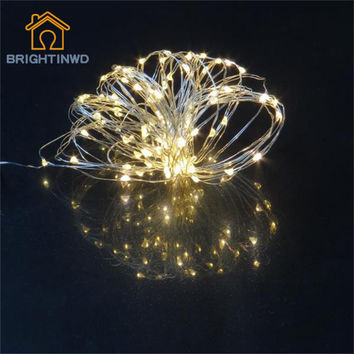 Copper Wire Colorful Fairy Lights