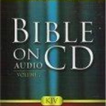 Bible On Audio CD Volume 7: John 1-10 New Testament
