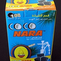 Coco Nara Stove Top Hookah Charcoals 108 Piece Box