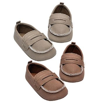 Baby Canvas Shoes Newborn Soft Sole First Walkers Infant Toddler Kids Baby Girls Boys Shallow Footwear
