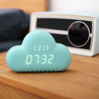Creative Quiet LED Electronic USB Clock [6283385734]