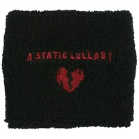 A Static Lullaby - Heart Wristband
