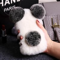 Cute Plush Toys Case for Iphone7 7 Plus & 6 6plus 6s plus & 5 5S Se Best Gift