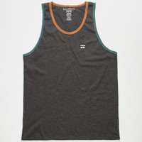 Billabong Contrast Mens Tank Black  In Sizes