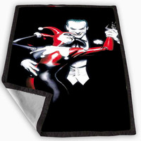 The joker and Harley Quinn Blanket for Kids Blanket, Fleece Blanket Cute and Awesome Blanket for your bedding, Blanket fleece *