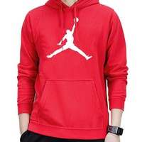 Trendsetter Nike Jordan Women Man Fashion Print Sport Casual Top Sweater Pullover Hoodie