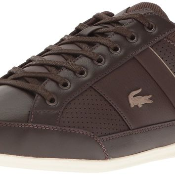 Lacoste Men's Chaymon 117 1 Casual Shoe Fashion Sneaker Dark Brown 9 D(M) US '