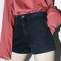 5-Pocket Cuffed Denim Shorts | MIXXMIX