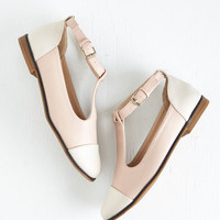 ModCloth Colorblocking What's Bold is Neutral Flat