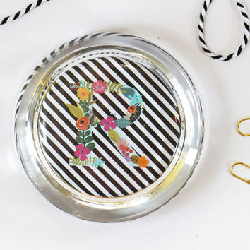 Custom Graduation Gift Personalized Glass Paperweight Floral Office Supplies Colorful Desk Teacher Gifts Flowers Dorm Room New Job Gifts