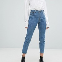 Dr Denim Edie High Waisted Slim Mom Jean at asos.com