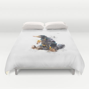 Niffler Duvet Cover by MonnPrint