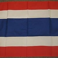 THAILAND FLAG 2X3 FEET THAI COUNTRY NATION BANNER NEW F447