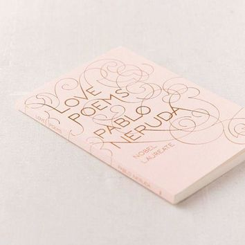 VONE9IB Love Poems By Pablo Neruda | Urban Outfitters
