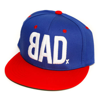 BAD Hat | The Cause | Red, White and Blue | Snapback for Charity