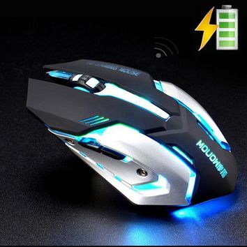 Wireless Rechargeable Silent Gaming Mouse