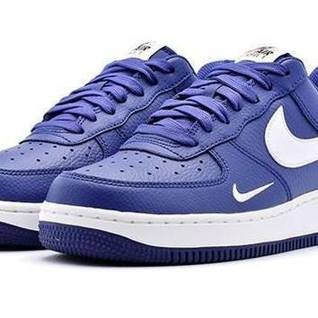 spbest Nike Air Force 1 Low Mini Swoosh Deep Royal Blue