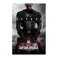 "Captain America - Marvel Movie Poster (Advance) (Size: 22""x34"")"
