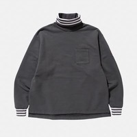 Cav Empt Hoop Cuff Turtleneck Sweatshirt - MEN - JUST IN - Cav Empt - OPENING CEREMONY