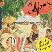 Personalized California Happy Days Wood Sign