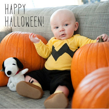 Newborn Halloween Costumes Baby Toddler Character Pumpkin Bodysuit Infant Boy Girl Sleeveless Jumpsuit Overall Outfit Clothes