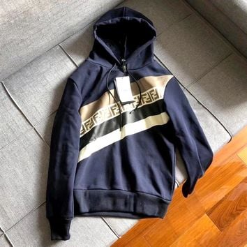 Fendi Mania Collection Men's and Women's Hoodie