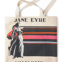 Out of Print Scholastic Bookshelf Bandit Tote in Jane