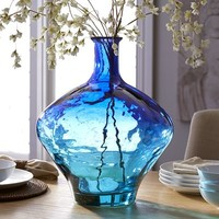 Sea Duo Vase - Cobalt & Teal$49.95