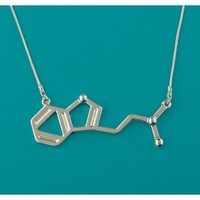 The Official I Love Science Store | DMT Molecule Necklace
