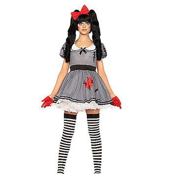 Adult Wind Me Up Doll Costume - Spirithalloween.com