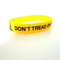 DONT TREAD ON ME Silicone Wristband Gadsden Flag