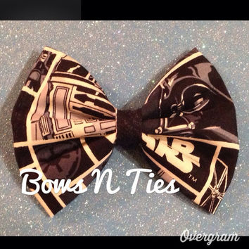 Hipster comic book Bow geek nerd hair bow