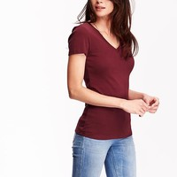 Old Navy Perfect V Neck Tees