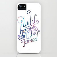 Wild Hearts iPhone & iPod Case by Good Sense