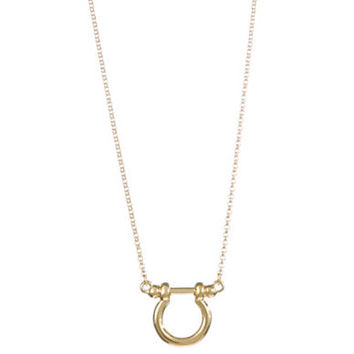 Lauren Ralph Lauren Shackle Pendant Necklace