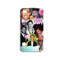 Super Cute Phone Case Girly iPhone Case Hot Boys iPod Case Collage Cover Heart Love Case iPhone 4 iPhone 5 iPhone 4s iPhone 5s iPod 5 Case