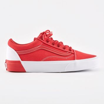 Vans Old Skool DX - True White/Racing Red