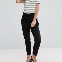 New Look Petite Slim Leg Pants at asos.com