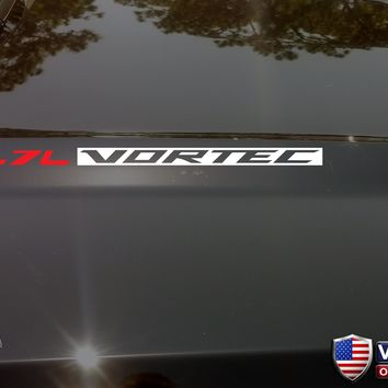 5.7L VORTEC Hood Vinyl Decals Sticker Fit Chevrolet Silverado GMC Sierra V8 1500