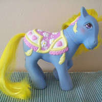My Little Pony Vintage G1 Brilliant Blossoms - nice shape