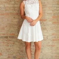 Kennedy Dress - white