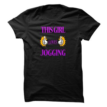 THIS GIRL LOVES JOGGING